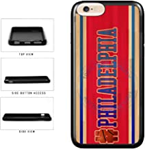 BleuReign(TM) Basketball Team Hashtag Philaldelphia #Philadelphia TPU RUBBER SILICONE Phone Case Back Cover For Apple iPhone 6 Plus and iPhone 6s Plus (5.5 Inches Screen)
