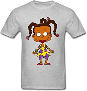 TLMKKI Men's Susie Carmichael T-shirt Grey XL