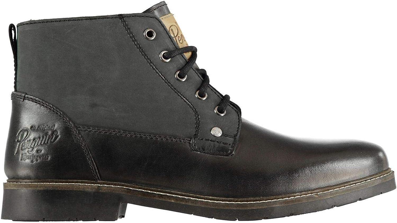 Original Penguin Masham Ankle Boots Mens Black shoes Footwear
