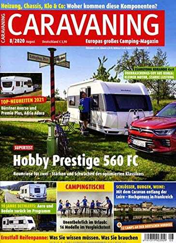 Caravaning Camping Magazin 8/2020