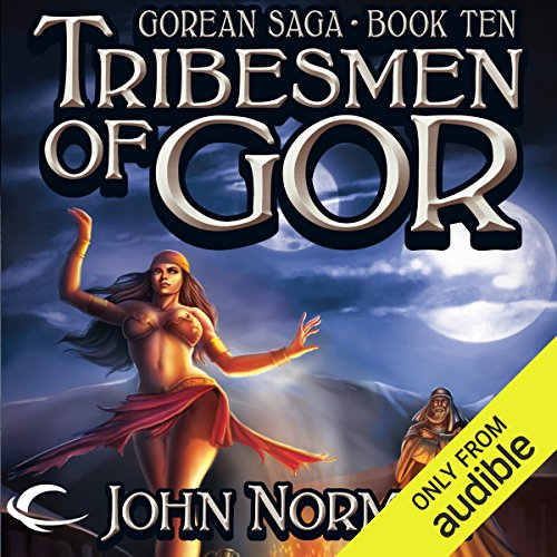 Tribesmen of Gor audiobook cover art