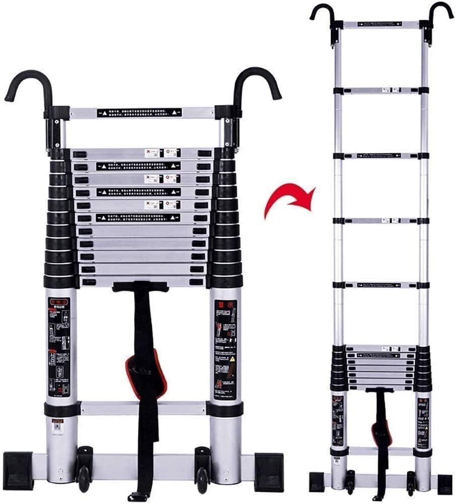 QZMX Ladder free Telescopic Ladders Kansas City Mall w Purpose Multi