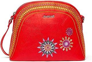 Desigual Women's Bols_ada Deia Shoulder Bag, Red (Rojo), 9.5 x 18.5 x 23.5 cm