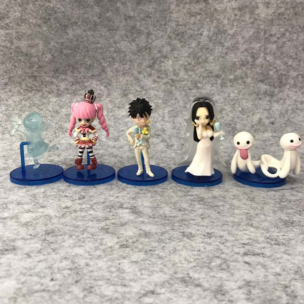 AGOOLLYY One Piece 15th Generation 5 Figu Anime Q Don't miss the campaign Models Save money Version