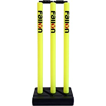 Fallyn Cricket Plastic Stump Wicket Set (Neon)