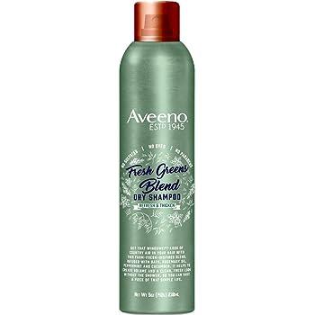 Aveeno Shampoo Dry Fresh Greens Blend 5 Ounce (238ml) (2 Pack)