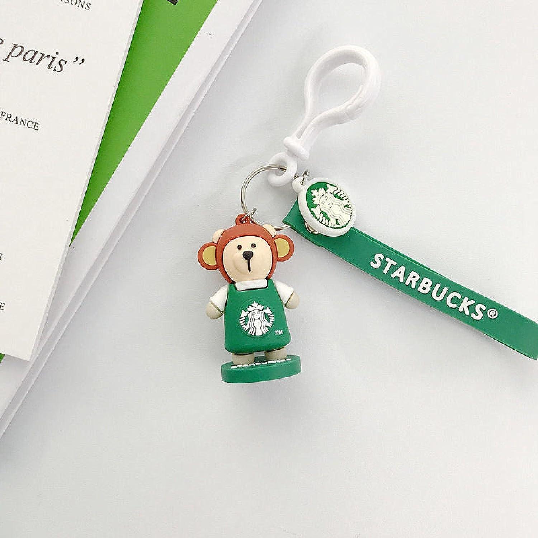SZLGPJ Bear Zodiac Character Doll Pendan Couple Car Bag Keychain Popular shop is the lowest price challenge Max 69% OFF