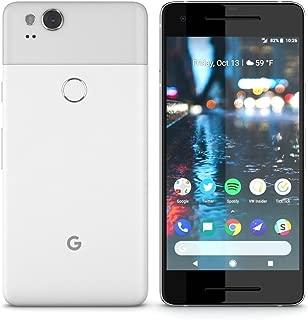 Google Pixel 2 Smartphone (G011A) GSM Unlocked + Verizon - 64GB / White (Renewed)