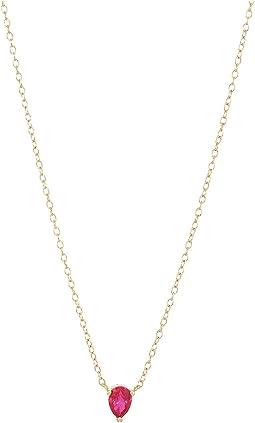 SHASHI Kamila Chain Pendant Necklace