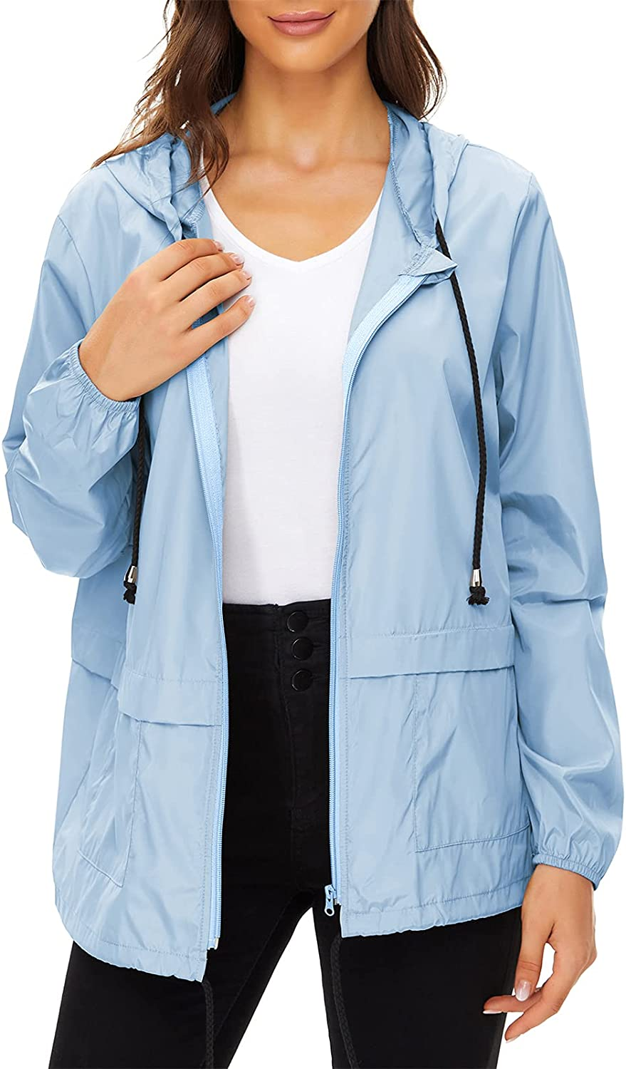 Century Star Plus Size Rain for Animer and price revision Waterproof Our shop most popular Windbre Jackets Women