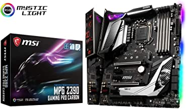 MSI Intel Z390 Gaming Pro Carbon ATX DDR4-SDRAM Motherboard