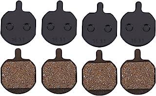 YOPOTIKA Metallic Disc remblokken semi- metallic hars remmen wrijving platen voor mountainbike (4 paar)