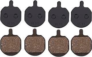 Vbestlife Bike Disc Brake Pads,4 Pairs Mountain Bike Metallic Brake Pads For Hayes Sole MX2/3/4/5 CX5 GX-C GX2