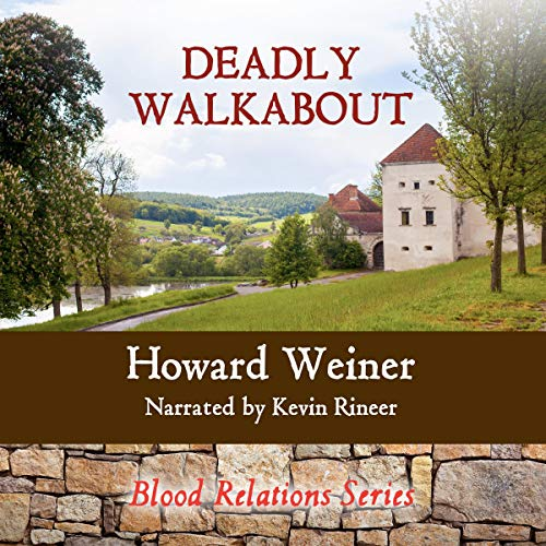 Deadly Walkabout audiobook cover art