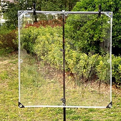 MLGBCDZ Lonas Resistentes al desgarro, jardín/Patio Ensenada de Refugio Engrosada de 0,35 mm, Tiendas de campaña con Ojales de Aluminio Inoxidable, Grandes 5x6 m (16,4x19,7 pies)