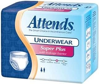 Attends Super Plus Underwear, Medium, Heavy Absorbency, APP0720 - Case of 80