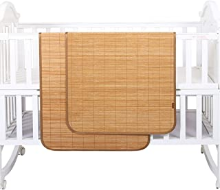 GUORRUI Summer Sleeping Mats Bamboo Children's Mattress Breathable Environmental Protection Skin-friendly Baby Cot No Burr...