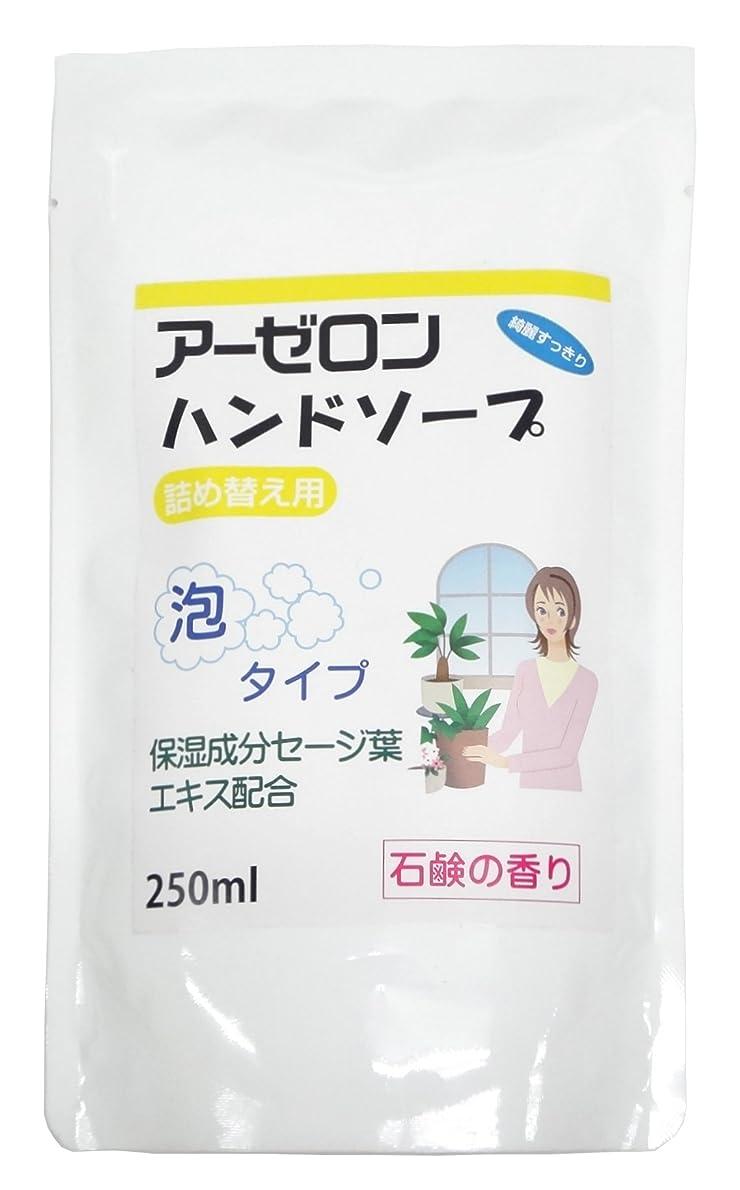 亡命指標くしゃくしゃアーゼロンハンドソープ 石鹸の香り(詰め替え用) 250ml