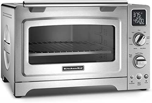 popular KitchenAid KCO275SS new arrival Countertop Oven, 12-Inch, Stainless Steel 2021 (Renewed) sale