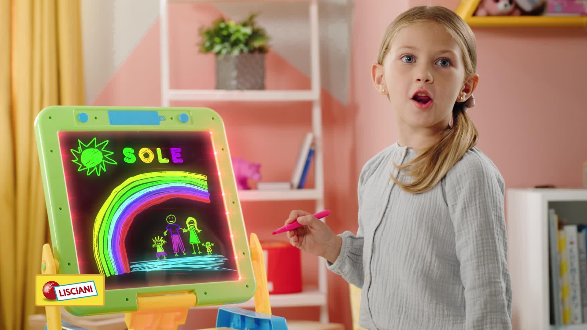 Lisciani Giochi 77441 Gioco Per Bambini Carotina Lavagna Led 2019 Amazon It Giochi E Giocattoli