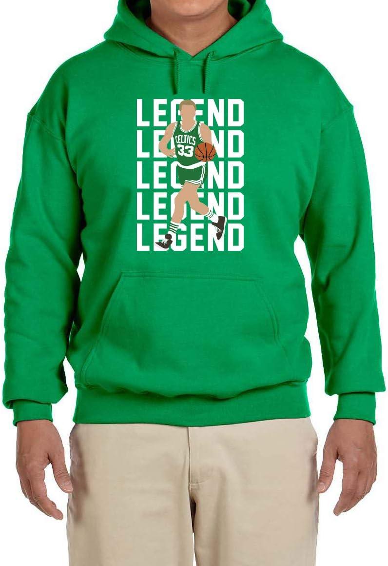 Peg Leg Shirts GREEN Boston Larry Legend Hooded Sweatshirt