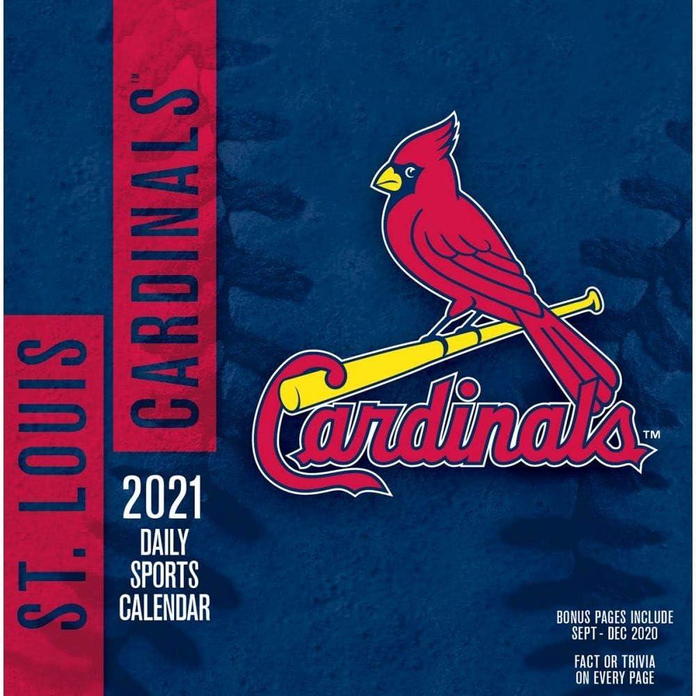 TURNER Sports St Louis Cardinals Box 2021 New Shipping Free Shipping model Calendar 21998051416