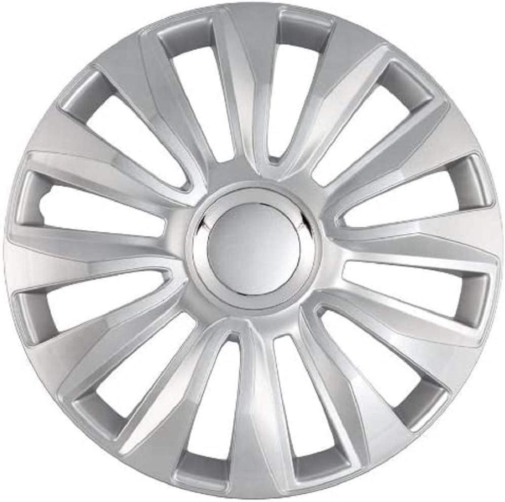 Petex Rb539316 Radzierblende Avalon Pro Größe 16 Zoll 2 Fach Lackiert Mit Chromring Material Abs In Box Silber 4 Er Set Auto