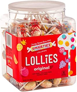 Smarties Double Lollies, 200 Count, 56 Ounce