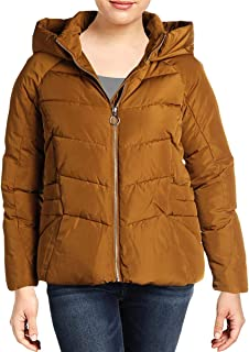 Womens Winter Hooded Basic Coat