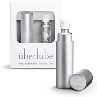 Überlube Good-to-go Travel Lube | Latex-Safe Natural Silicone Lube for Sex with Vitamin E | Unscented, Flavorless, Zero Re...