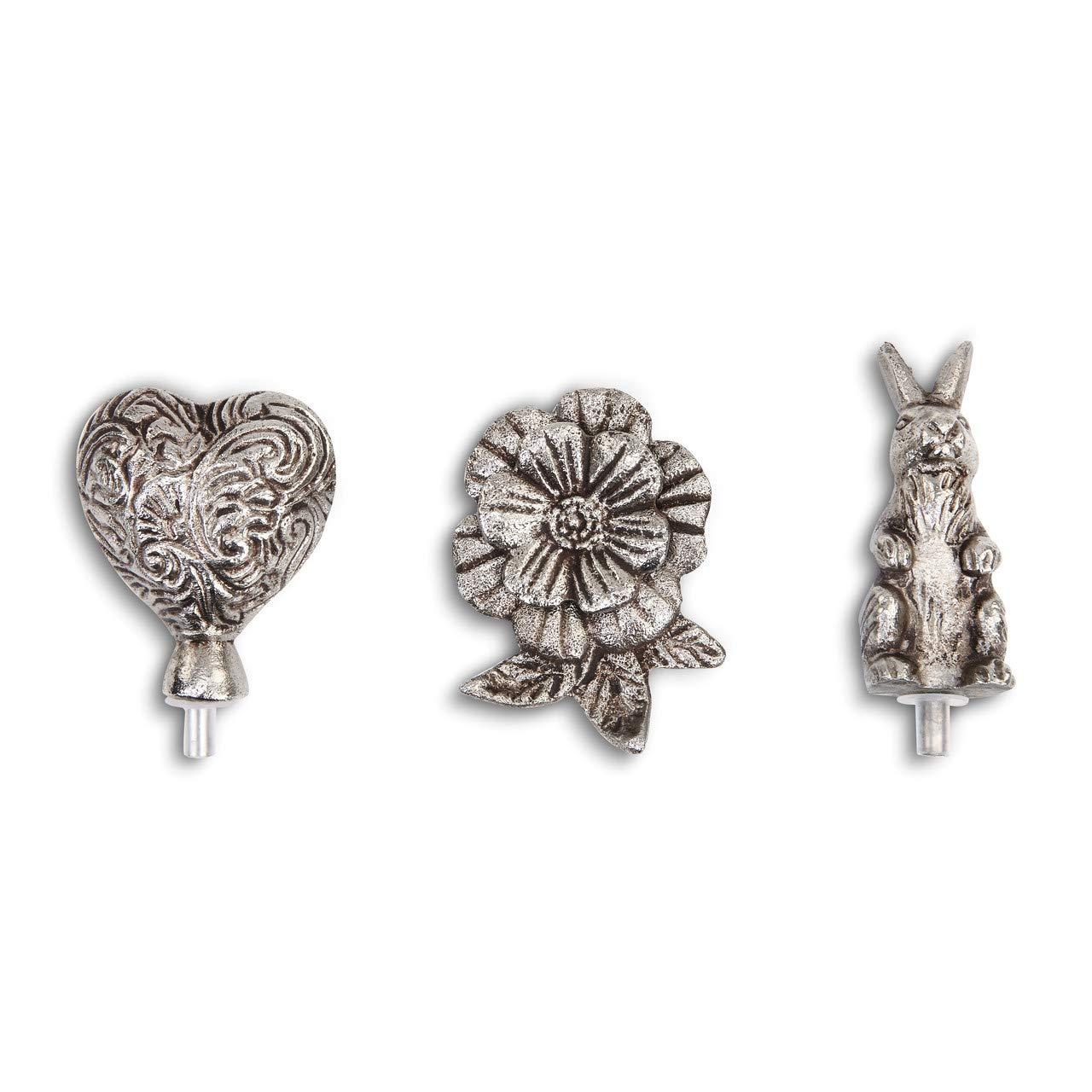 DEMDACO Courage Over Comfort Metallic 2 x 2 Metal Collectible Heart Token Figurine