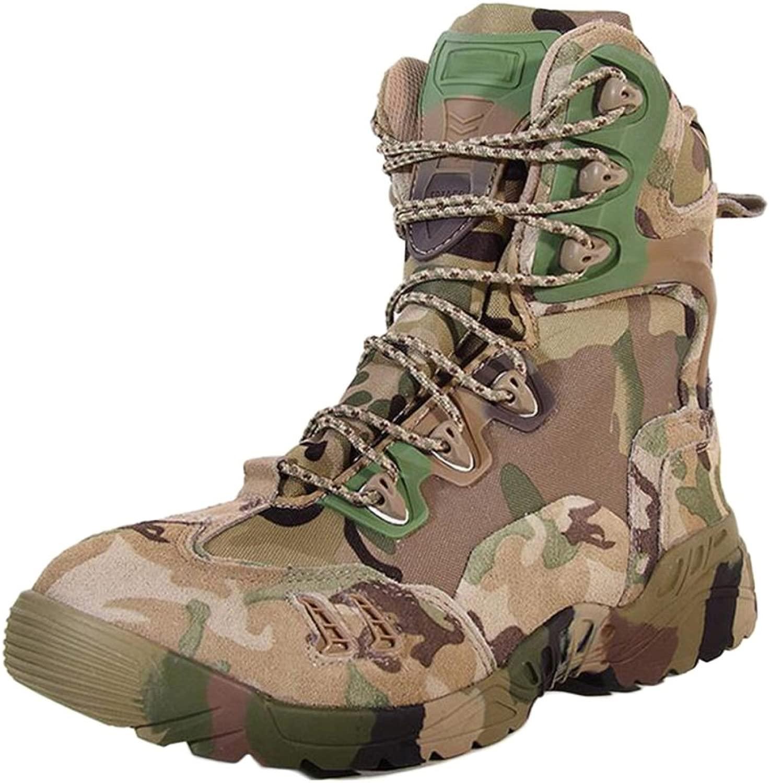 Wanderschuhe Herren Wasserdicht Leichte High Rise Leichte Desert Stiefel Armee Armee Stiefel Outdoor Spider Stiefel  günstig online
