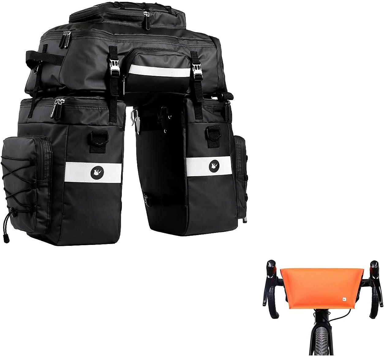 Rhinowalk Bike Bag x Courier shipping free Handlebar 2 Waterproof Front Genuine