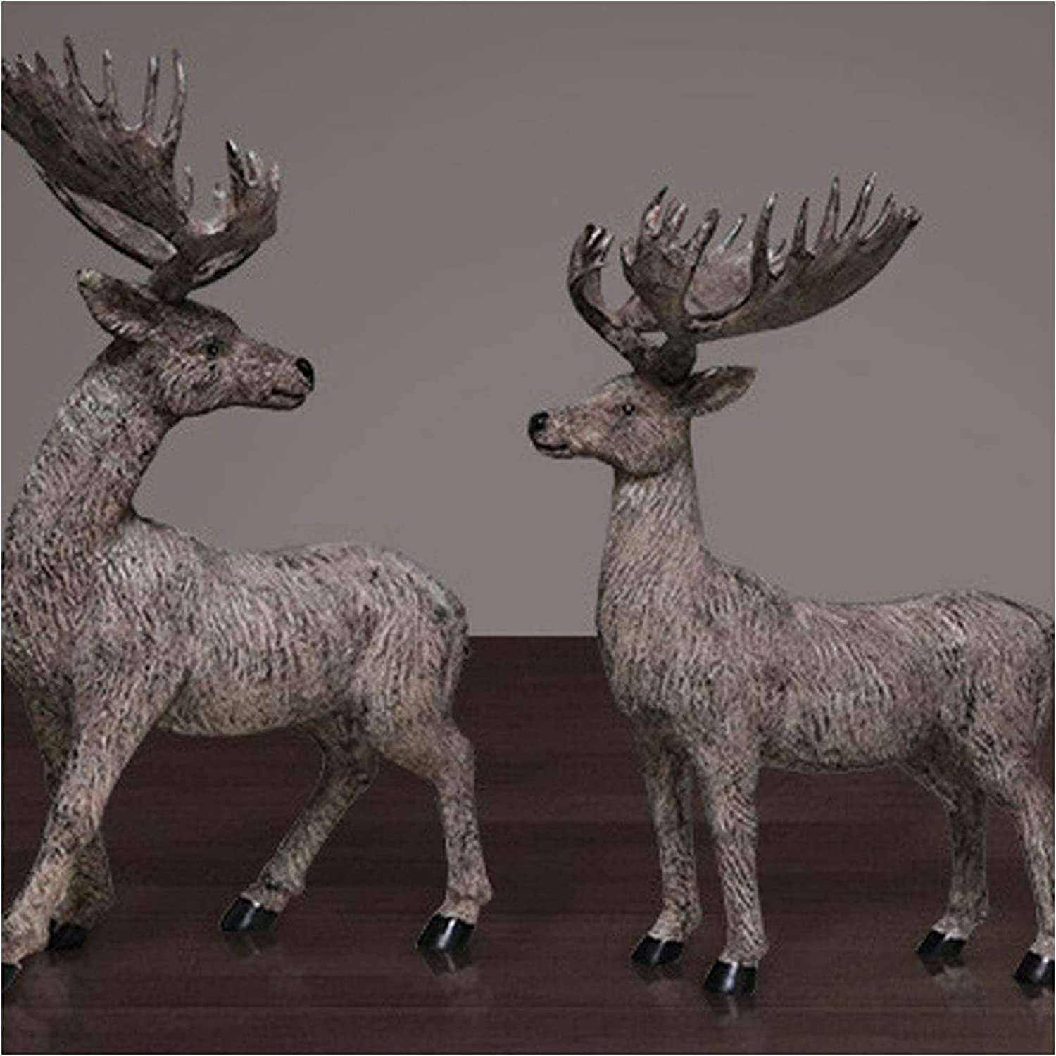 Home Decor House Deer Ornaments Creative TV Shipping included Large discharge sale Ca Living Porch Room