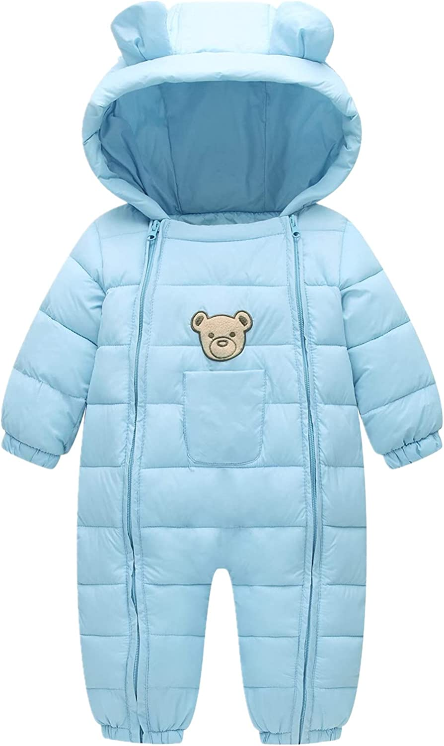 Ohrwurm Baby Winter Ranking TOP16 Thick One Piece Snowsuit To Zipped specialty shop Hood with