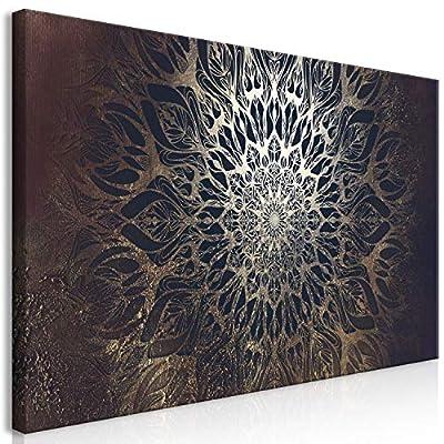 FORMATO XXXL: aprox. 170x85 cm (ancho x alto) cuadro gigante impreso en lienzo de una sola pieza, preparado para ensamblar (de automontaje). Los lados son aprox. de 3 cm de espesor. Todos los elementos necesarios para montar el cuadro están incluidos...