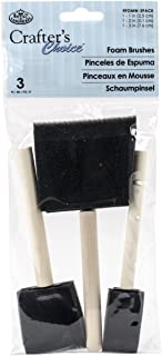 Royal Brush RFOMW-3P Foam Brush, 3-Pack