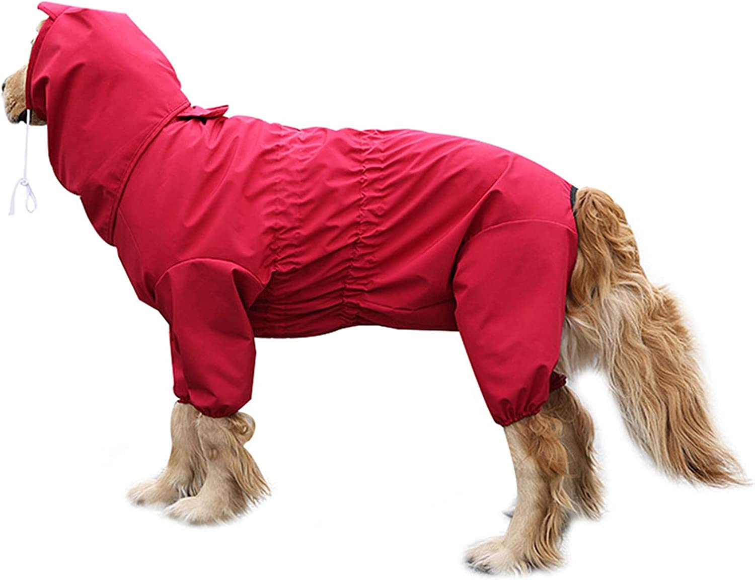 2021 Long-awaited new XHZDWJ Dog Raincoat Poncho,Whole Water Hooded Package