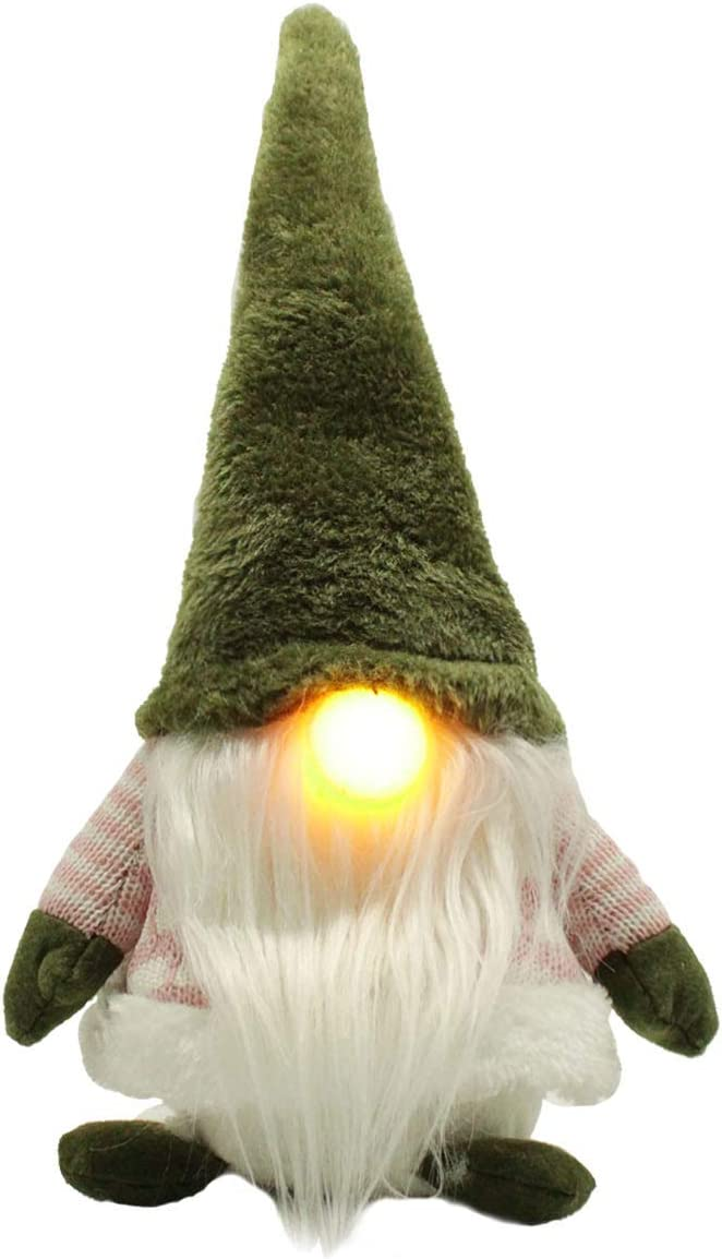 X-PREK Faceless Senta Doll Online limited product Decorations Ornam Christmas Selling rankings