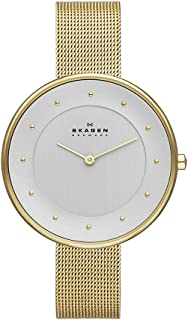 Skagen Women's White Dial Stainless steel Band Watch - SKW2141
