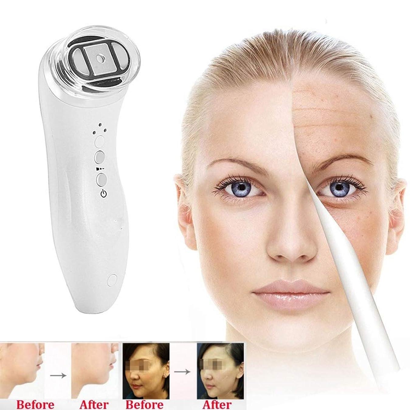 促進する資本主義合唱団頻度美顔術の機械、反老化のスキンケアをきつく締める皮の若返りのしわの取り外しの皮のための家の使用携帯用美顔術機械
