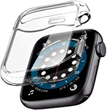 Spigen Ultra Hybrid Compatible avec Apple Watch Coque pour 44mm Series 6 / Se/Series 5 / Series 4 - Crystal Clear