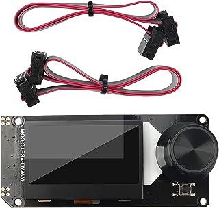 MERIGLARE Painel de monitor gráfico de tela de cristal líquido Mini 12864 V1.0 de 1 peça para impressoras 3D Acessórios de...