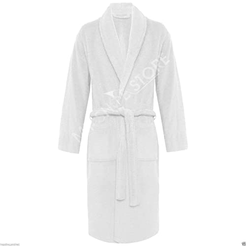 Other 100% Luxury Egyptian Cotton Super Soft Towelling Bath Robe Dressing  Gown Terry Towel Bathrobes e4730f565