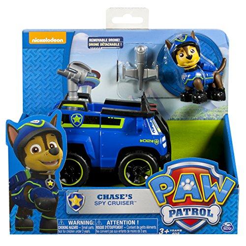Paw Patrol - Miniatura vehículo - Chase's Spy Cruiser, Spin Master 6027647