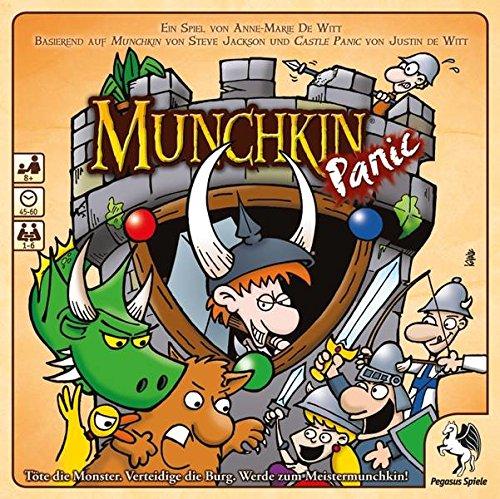 Pegasus Spiele 51955G – Munchkin Panic