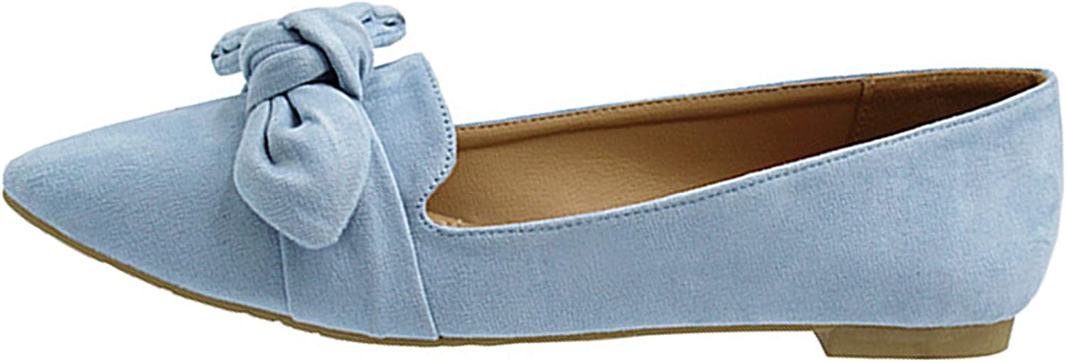 Haughty Womens Flats Ballet shoes Soft Vegan Jersey Comfortable Basic Canvas Slip On with Ankle Strap