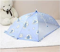 Portable Bed Umbrella Type Baby Crib Mosquito Netting Blue