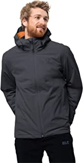Jack Wolfskin Men's Norrland 3-IN-1 Waterproof Insulated Jacket