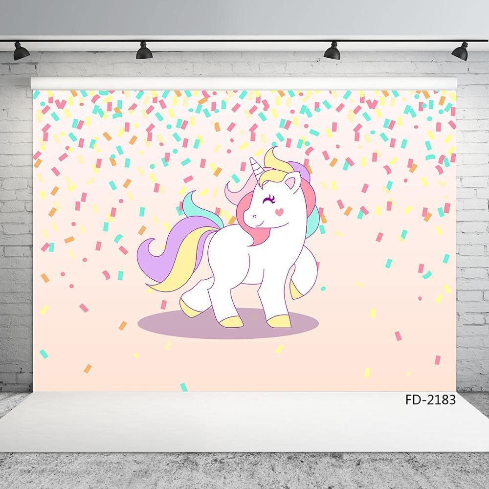 Pink Pony Color Birthday Party Photography for Brand At the price Cheap Sale Venue B Photo Backdrops